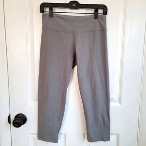 Old Navy Workout Yoga Capris Gray Size Small